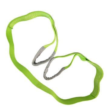 4 x 4 RECOVERY WINCH TREE STROP 14T x 2 metre HI-VIS TOW STRAP off road 4WD
